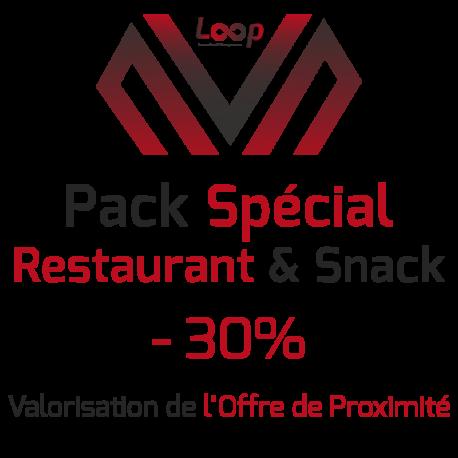 Pack Restaurant & Snack - Valorisation de L'Offre de Proximité