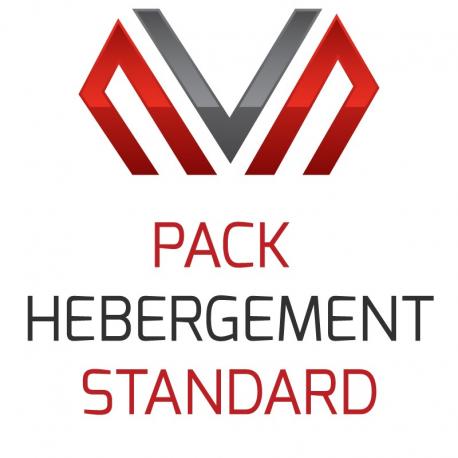 Pack Hébergement - Standard (Annuel)